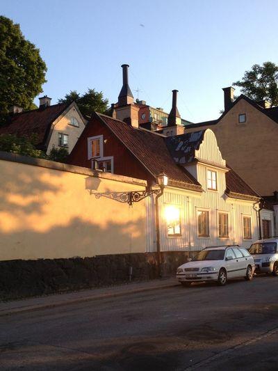 Stockholm Enjoying The Sun Cafe