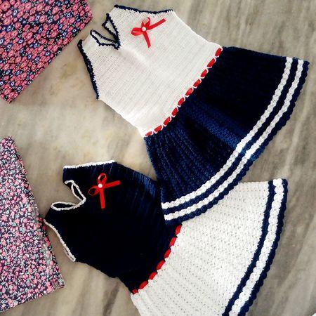 Baby Dress Sailor