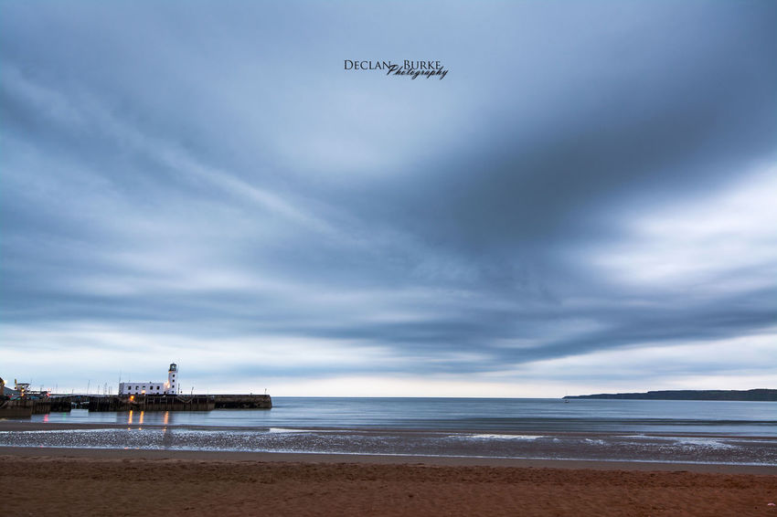 Storms a coming. Scarborough Uk