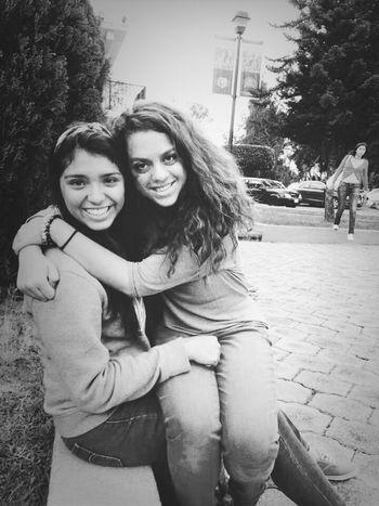 My best friend Me I Love Her <3 My Bestfriend School