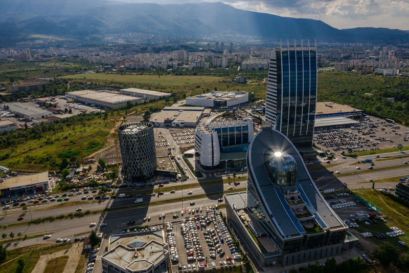 Birds view 1 DJI X Eyeem Drone Shot Mavic2pro Sofia, Bulgaria Travel Unrecognizable People Aerial View Architecture Building Building Exterior Built Structure City Cityscape Djimavic2pro Drone Photography Financial District  High Angle View No People Office Building Exterior Outdoors Road Skyscraper Sofia Top View Travel Destinations