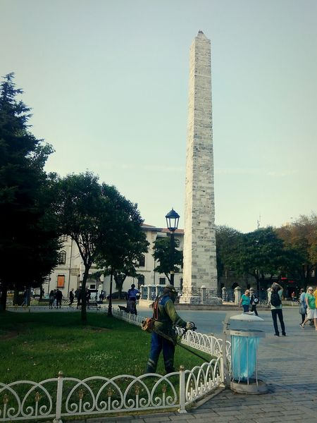 çim  çimenler Gorevli Atmeydanı Anıt Monuments