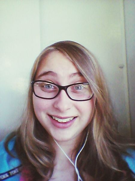 Got highlights in my hair. On the way to school.