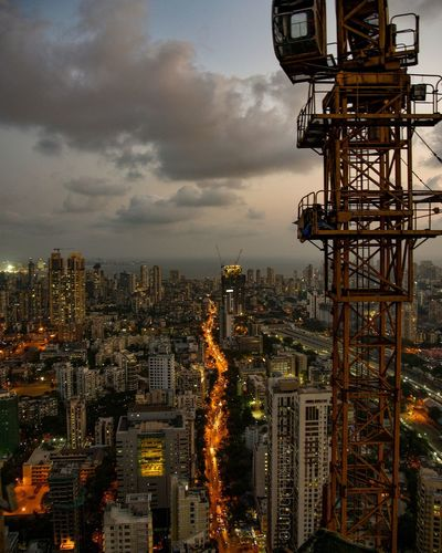 The Great Outdoors - 2017 EyeEm Awards Cityscape Skyscraper Architecture City Outdoors Sky Urban Skyline India EyeEm Best Shots Skyporn Sunset Illuminated No People Building Exterior Built Structure Day EyeEmNewHere