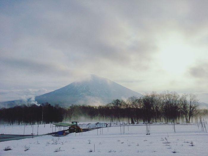 Steamy winter