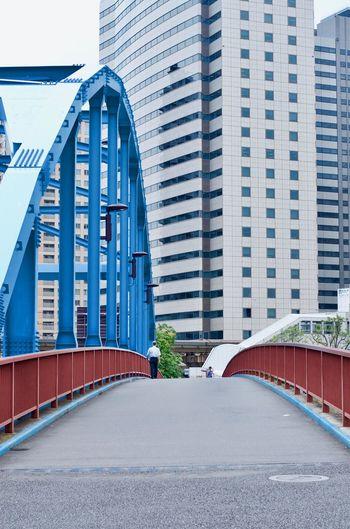 Urban bridge.