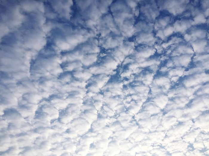 Cloud - Sky Full Frame Low Angle View Backgrounds Beauty In Nature