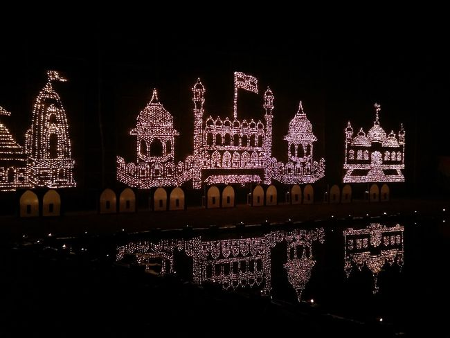 Architecture Celebration Christmas Christmas Decoration Diwalicelebrations Diyas Of Diwali Illuminated Night No People Outdoors Reflections In The Water