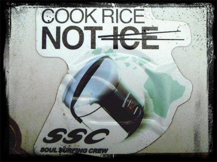 Cook rice not ice Cook  Rice Not Ice