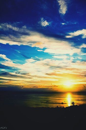 Sunset Natural Beauty Sky And Clouds Holiday Trip Karimunjava INDONESIA