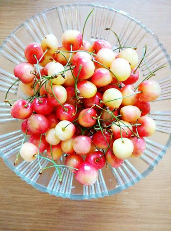 Time For Breakfast  Breakfast SweetCherry Cherry Food Morning Summertime Summer Summer Time