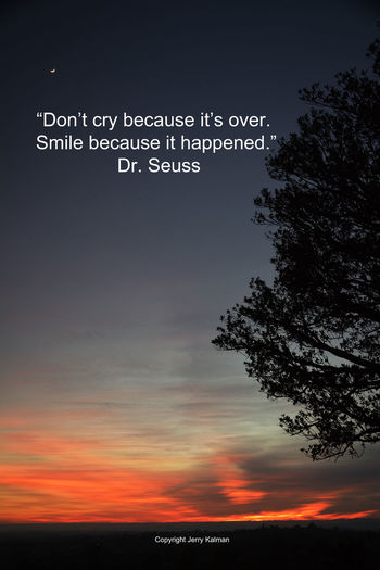 It's the birthday of #DrSeuss, a k a #TheodoreGeisel. Here's one of his better #quotes and a recent sunset scene here in #Fallbrook. If this #quotograph resonates with you feel free to #repost for others to enjoy. Dr. Seuss Orange Color Quote Quotes Quotograph S Sunset Theodore Roosevelt National Park