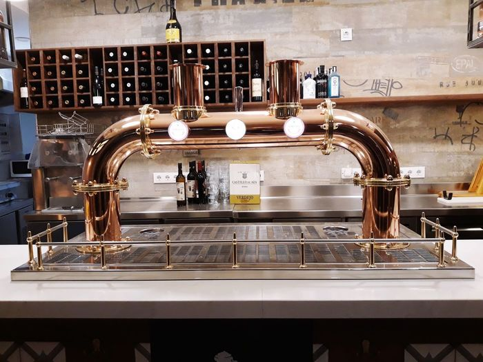 taberna la española! Taberna Restaurant Domestic Room Stove Faucet Kitchen Wash Bowl Neat Espresso Maker Water Stainless Steel  Domestic Kitchen