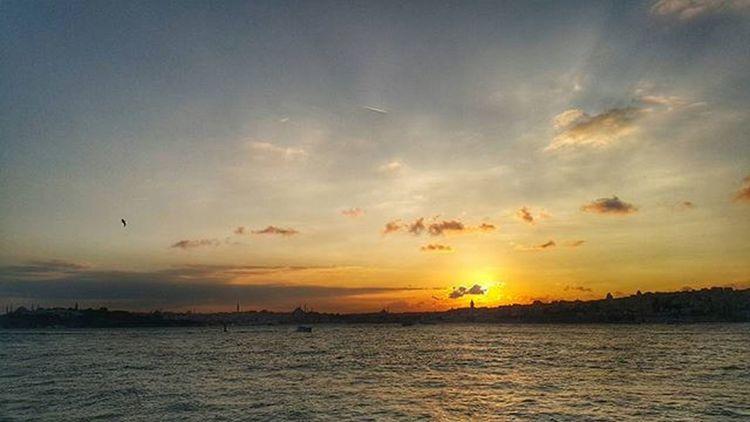 Sunset üsküdarsahil Istanbul