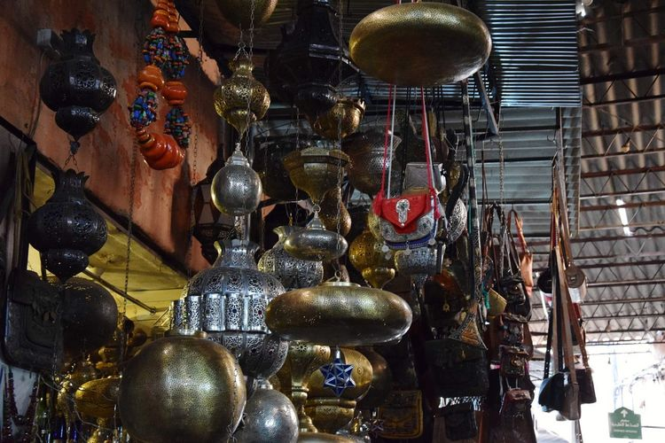 Lamp's World's Bazaars Photography Handmade Accesories Metal - Material Hanging Store Retail  Variation Choice Close-up Market Stall