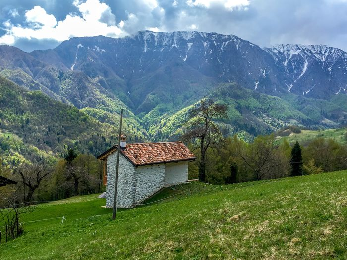 Seren Del Grappa Landscape_photography Trees Mountain Outdoor Photography Clouds And Sky