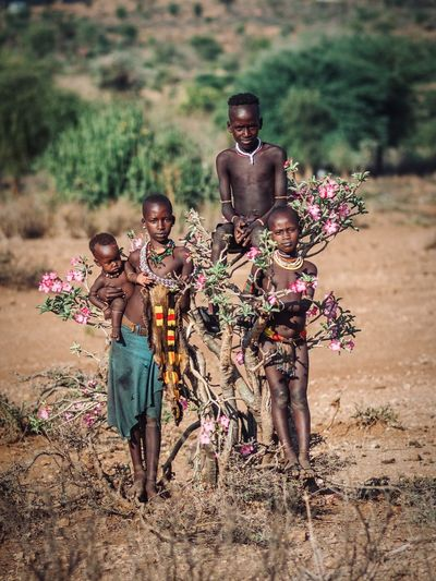 Travel Africa Portrait Photography Ethiopian Portrait Of A Woman Ethiopian Photography 🇪🇹 Ethiopia Tribal Omo Valley Africa Group Of People Child Childhood Men Land Women Girls Offspring Nature Full Length Females Togetherness People Day Boys Males  Plant Real People Standing Field