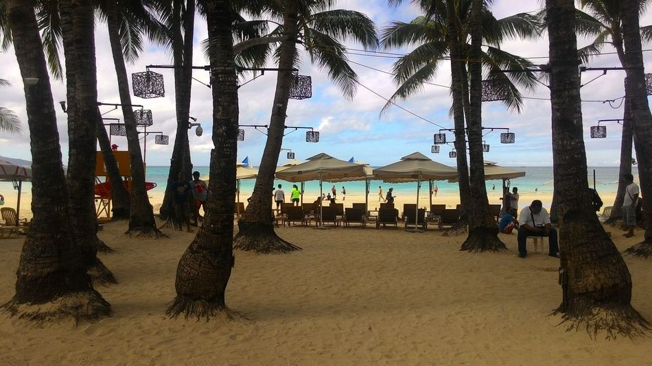 A view that is perfect for the eyes Sea Nature_collection Beauty In Nature Boracay Philippines Ocean Sky Scenics Bluesea