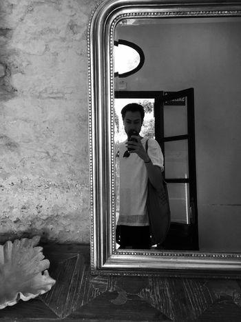 Taking Photos Blackandwhite That's Me in the Mirror Sevilla Alcazar