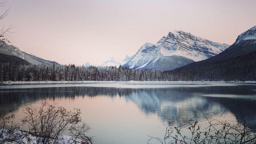 lake in Jasper