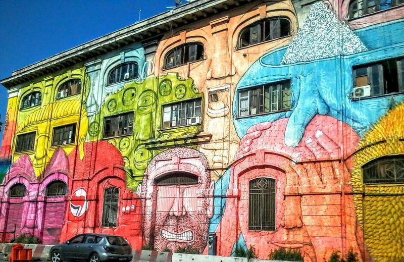 Pastel Power Graffiti Graffiti Art Rome Street Hunt Street Artist Blu Blu Street Artist Murales Arcade Games Graffiti & Streetart in Rome