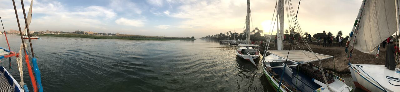 Luxor, Egypt 😊 Panorama Sky Cloud - Sky Panoramic Day Beauty In Nature Outdoors