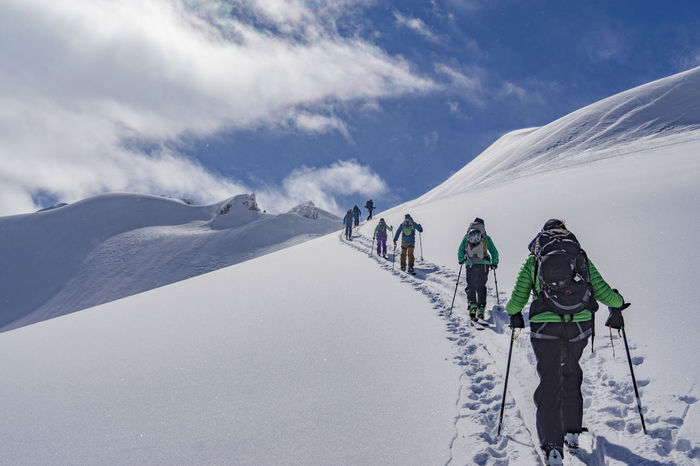 Activity Adventure Ascending Backcountry Backcountry Skiing Climbing Exploration Fresh Fresh Powder Landscape Leisure Activity Lifestyles Mountain Mountain Range Outdoors Powder Real People Remote Ski Skiing Snow Sport Untracked Vacations Winter The Great Outdoors - 2017 EyeEm Awards