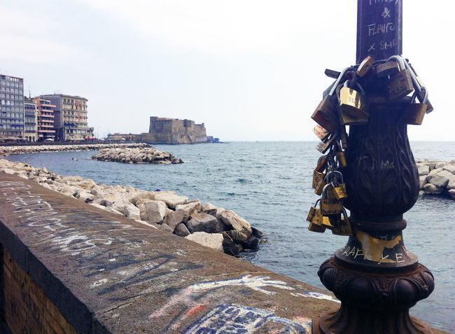 My wonderful city... Campania Castle Italia Italy Landscape Naples Napoli Sea