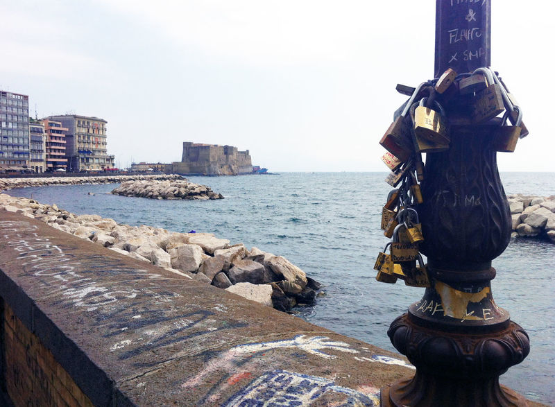 My wonderful city... Campania Castle Italia Italy Landscape Naples Napoli Sea