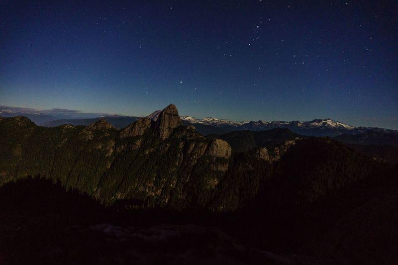 Night sky in