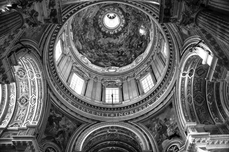 Interior Of Sant Agnese In Agone