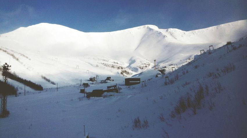 Kirovsk Mountain View Snowboarding Landscape Snb Open Edit OpenEdit