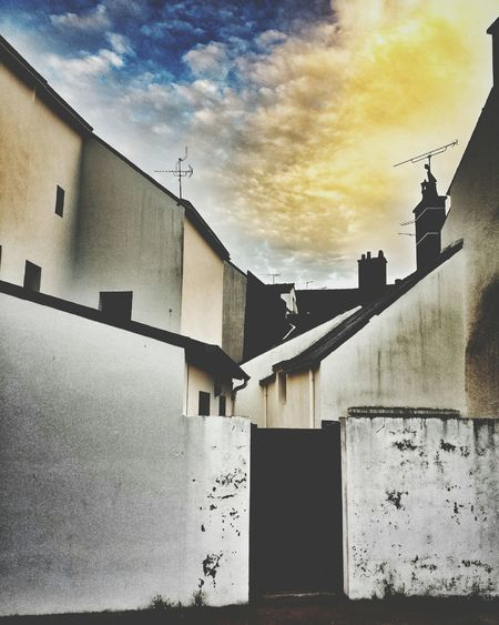 Architecture Sky No People Architecture Street Observation Geometric Shape Urban Brittany
