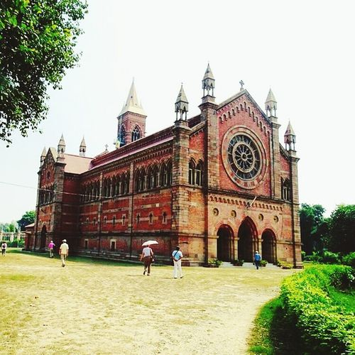 Church Architecture Building Exterior 1842 Red Cant Kanpur Kanpur,India