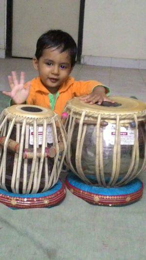 My sweet son ANIRUDDHA