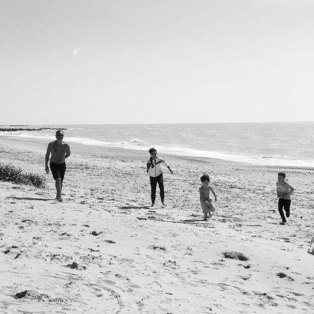 Mare Bambini  Correre Sullaspiaggia Incontricasuali Mare Soleil Sun ☀ Agrigento Sicily Oceanomare Mycity