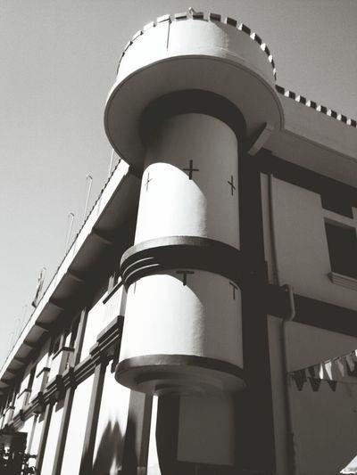Cuartel de Alajuela Taking Photos Arquitecture Black And White