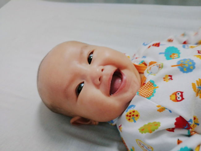 baby laugh Laugh Laughing Laughter Baby Babygirl Infant Children Cute Face Asian  Smile