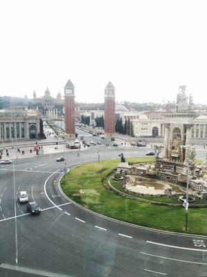 The Tourist The Tourist Mission Barcelona Plazadeespana Sightseeing Hights View From Above Monuments Old Palace Hola! Bon Dia! Paisatges Catalans