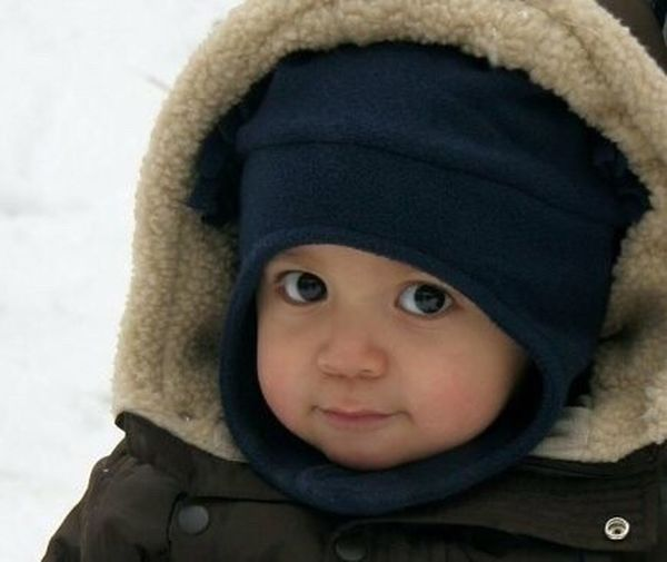 Looking At Camera Warm Clothing Cute Winter Innocence Boys Sweetface Those Eyes Handsome Boy