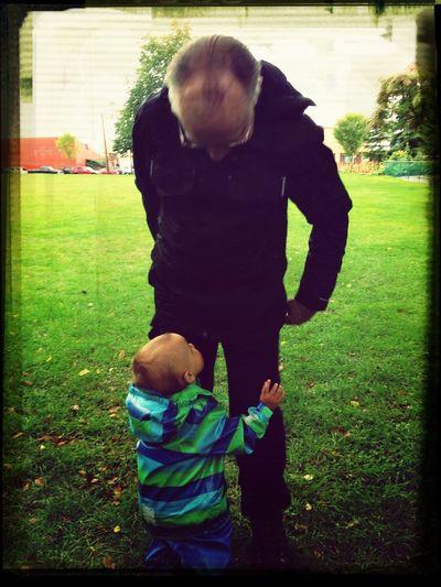 Please Grandpa, lift me up!