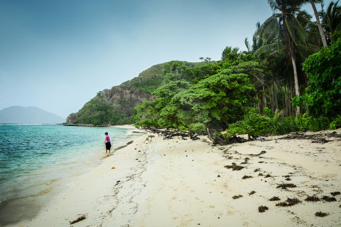 Beach Beauty In Nature Day Holiday Mountain Nature Ocean Peao Sand Skyline Trees And Sky Let's Go. Together.