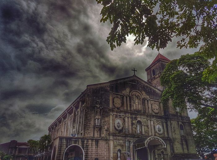 St.John The Baptist Philippines Old Structures Architecture Built Structure Low Angle View Building Exterior Sky Travel Destinations Outdoors History Tree Day No People EyeEmNewHere Discover Berlin