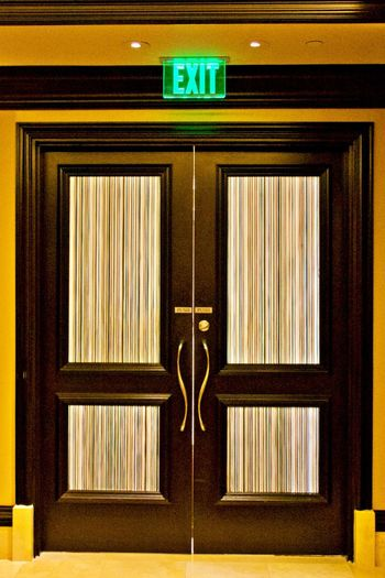 Sign Communication Door Entrance Exit Sign Indoors  Architecture Closed No People Information Illuminated Guidance Building