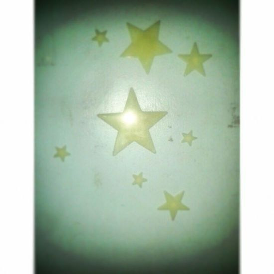 100happydays 73 Stars Wall Decorate