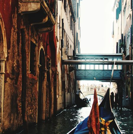 Nautical Vessel Canal Water Gondola - Traditional Boat Day Travel Destinations No People Architecture Outdoors