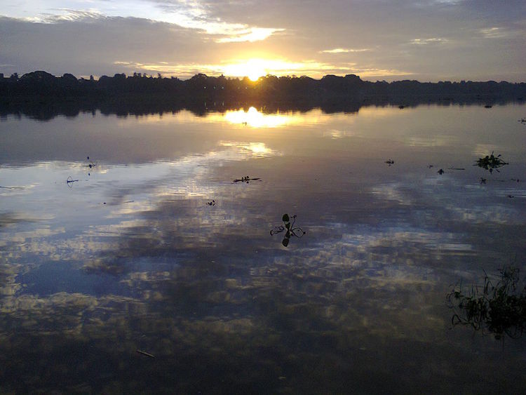 Beauty In Nature Idyllic Nature No People Outdoors Reflection Sky Sun Sunset Water