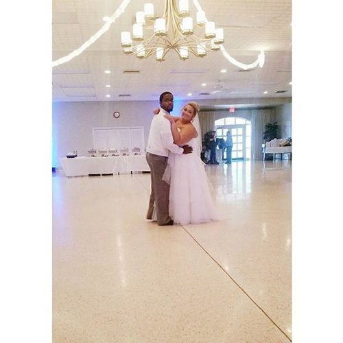 Our first dance 😊. Wedding 2015