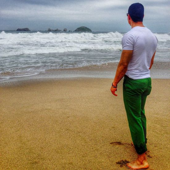 Ixtapa Check This Out Sea That's Me Sunset