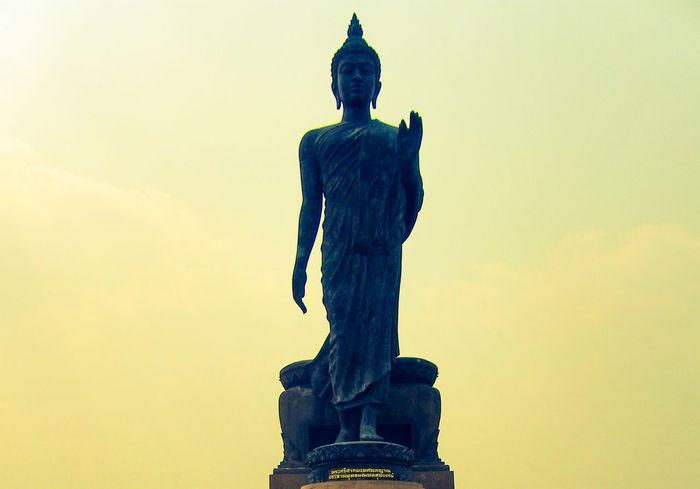 Big Statue Statue Buddhism Buddha Amazing Thailand Beautiful Amazing Religion Worship Believe Amazing Statue Sculpture Art And Craft